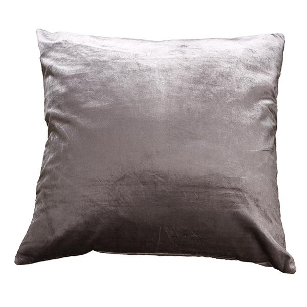 Storslått Putetrekk Velvet Glam Fabric Grey - Mille Moi CO-28